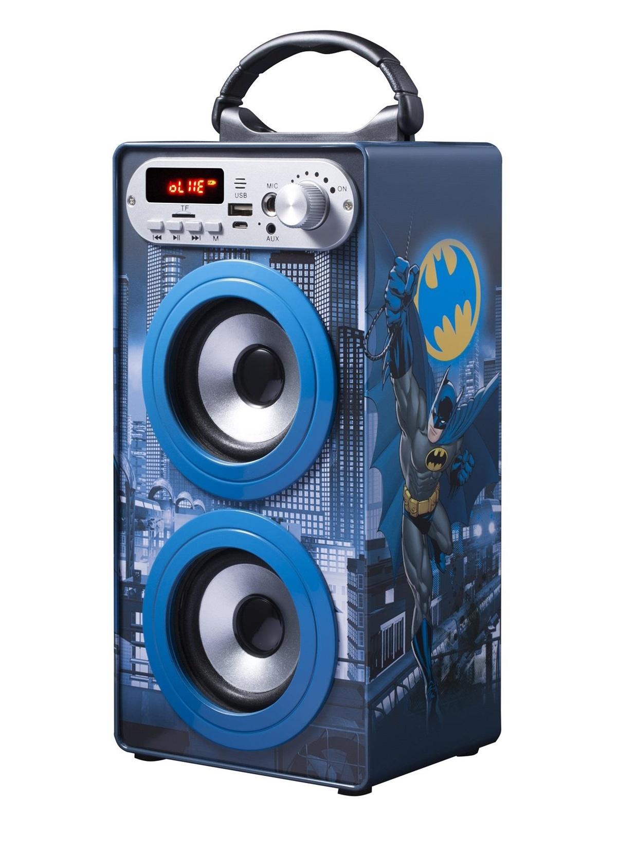 Standart Volkano DC Comics Batman Bluetooth Hoparlör Karaoke Seti Lisanslı WB-10505-BM